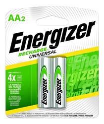 PILA RECARGABLE AA ENERGIZER NH15 2000MHA BLISTER X2