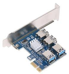 Placa PCIe A 4 puertos USB 3.0