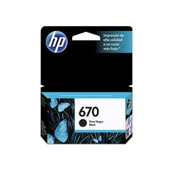 CARTUCHO HP ORIGINAL 670 NEGRO