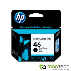 CARTUCHO HP ORIGINAL 46 NEGRO - HP4729