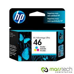 CARTUCHO HP ORIGINAL 46 COLOR - HP4729