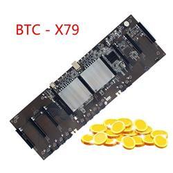 MB X79 PRO BTC 9x PCIEx16 2GPU MICROS INTEGRADOS SOPORTA 3060