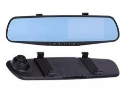 Camara Frontal Hd Auto Espejo Dashcam Grabacion 4.3