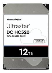 DISCO RIGIDO SATA 12TB HGST WD ULTRASTAR DC HC520 HDD 7.2K SATA 6GB/S 256MB CACHE 3.5