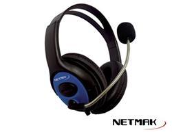 AURICULAR GAMER CON MICROFONO PS4 FURIOUS NETMAK