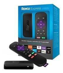 ROKU EXPRESS 3930 - FULL HD HDMI WIFI CONTROL REMOTO, DISNEY+