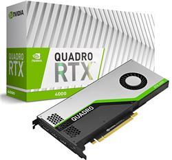 PLACA DE VIDEO QUADRO RTX 4000 PNY 8GB GDDR6 256-BIT PCIE 3.0, VCQRTX4000-PB