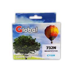 CARTUCHO EPSON ALT T73 CYAN GLOBAL