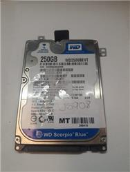 DISCO NOTEBOOK WD 250GB USADO